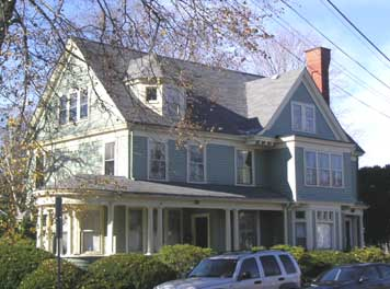 Queen Anne with wraparound porch