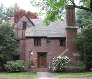 Tudor Revival house in Shawsheen Village