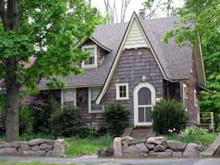 Tudor Revival house on Florence Street