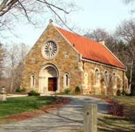 Chapel in West Parish Cemetery
