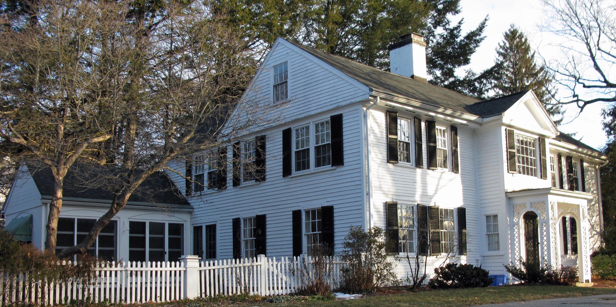 ANV.115 Higgins, Solomen - Abbot, George House 59 Central St., Andover MA 1734