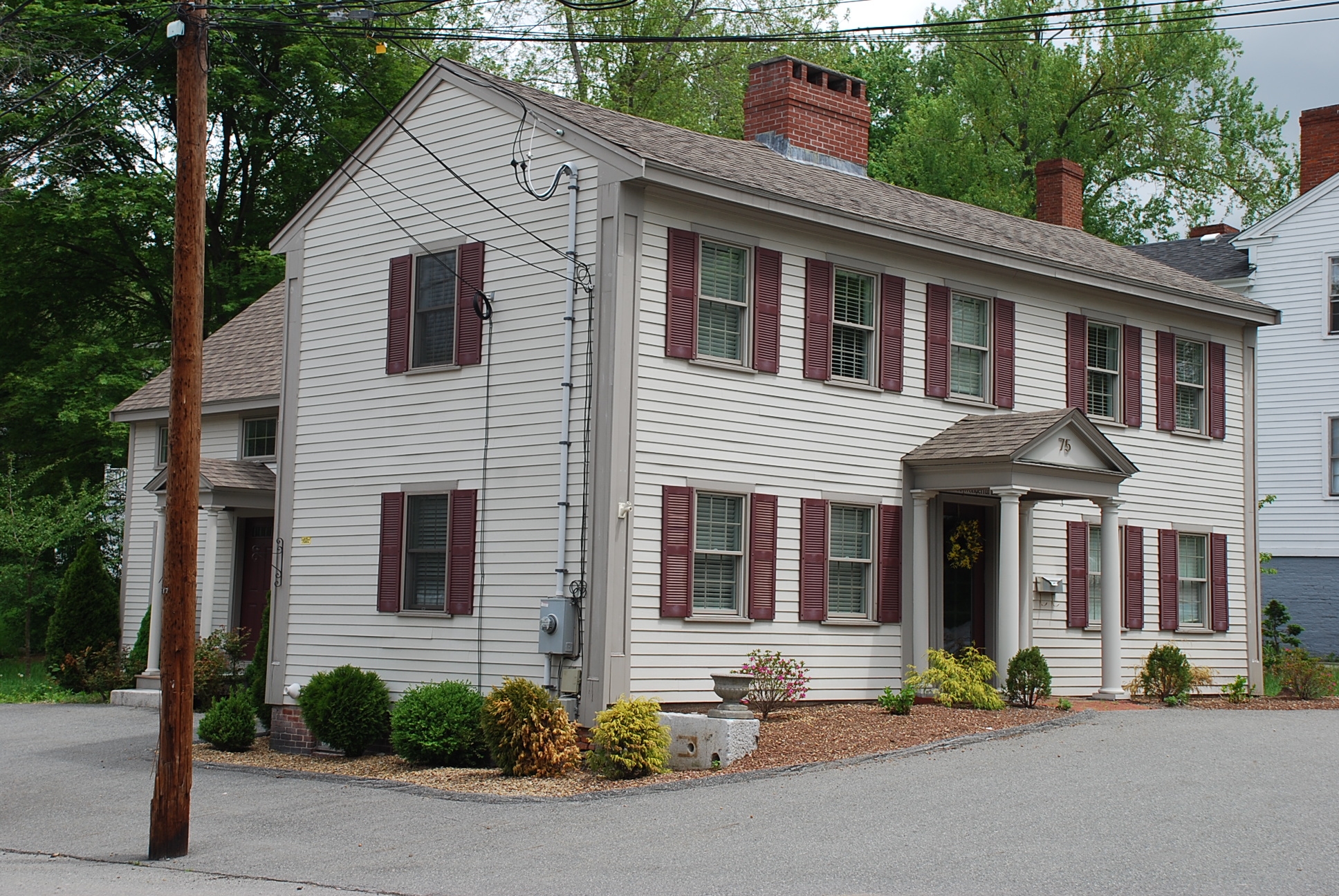Abbot Village Mills Workers Housing 75 Essex St., Andover MA r1720