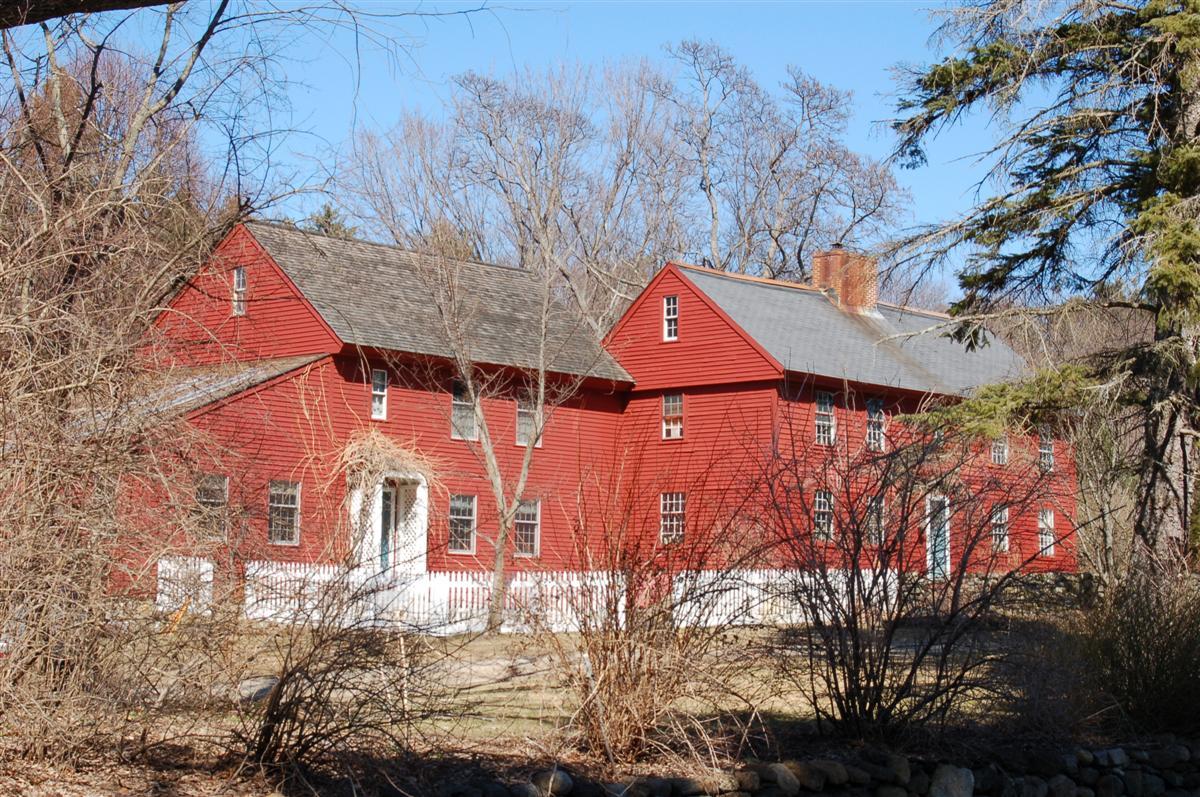 Blanchard - Upton House 62 Osgood St., Andover MA r1720