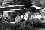 Circa 1924 Village Hall at center