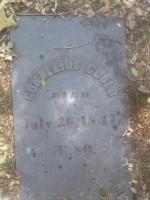 Cornelius Gould headstone