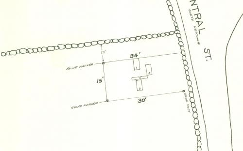 Map of Gould Family Cemetery