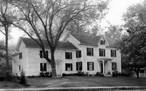 Leonard Woods house circa 1900