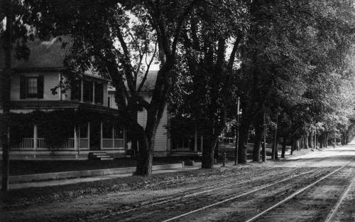 104 and 106 Main St. circa 1900
