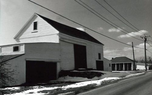 The Flint barn across the street - razed 1/1999