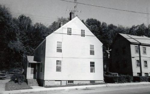 123 - 125 North Main St in 1976 - Donovan - Sweeney - Driscoll