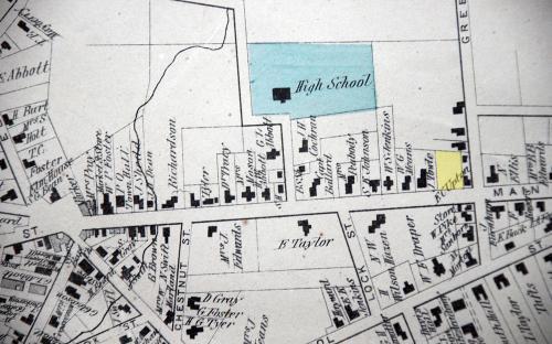 1872 Map detail