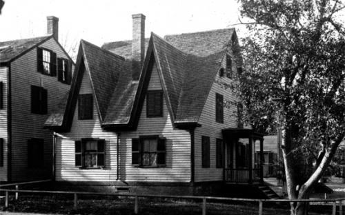 PAE Club House circa 1890 at #131 Main St. detail