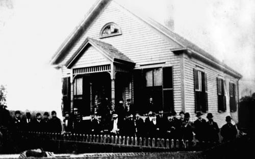 Cosmopolitan Society Clubhouse - Circa 1890