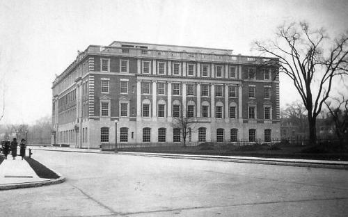Administration Building rear east and south facades Oct. 1923