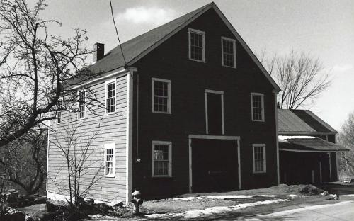 Hardy barn across the street - razed 1995