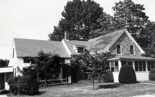 Arthur Lewis home circa 1975