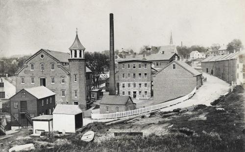 Circa 1894 prior to the new mill construction