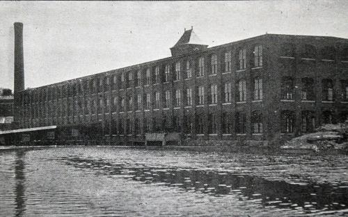 Mill #1 from the mill pond 1896