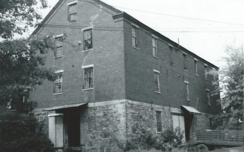 19 Dale St. rear east facade
