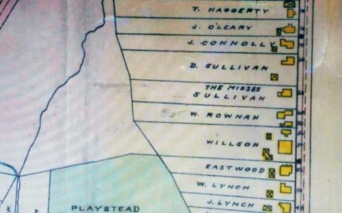 1906 Map of Morton St.