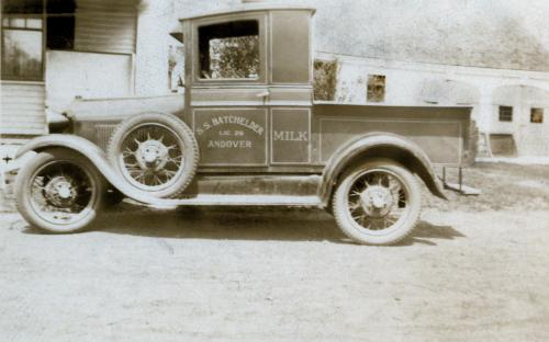 Ford A truck for deliveries