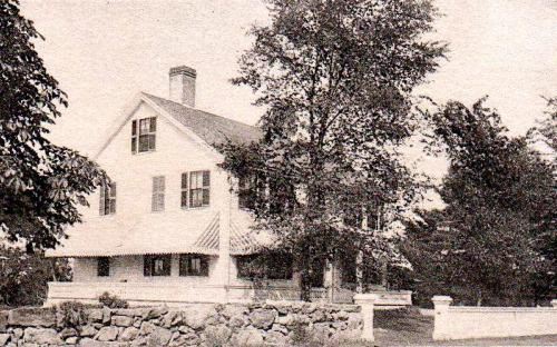 West Parish Parsonage circa 1896