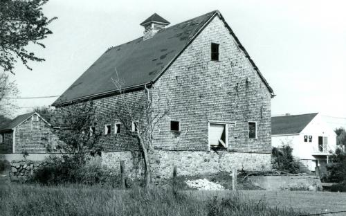 Barn from rear 1975
