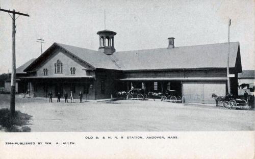 B&M Rail Station circa 1890