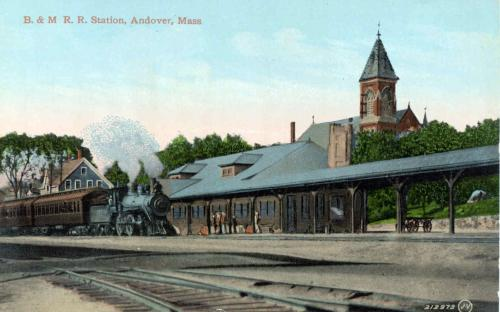 2nd B&M Railrond station circa1920