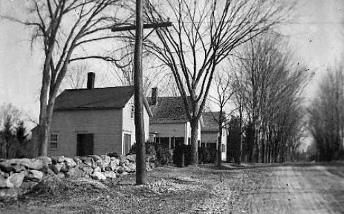 Abbot St. c. 1900 - #17, #15 and #11