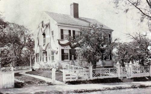 1896 Grosvenor House decked out for Town's 250th Anniversary