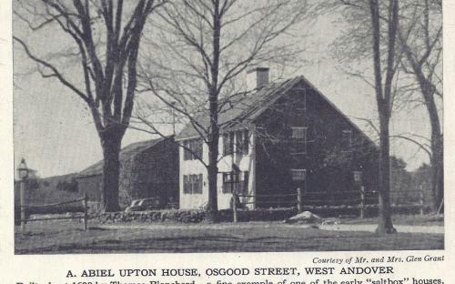 Post Card Blanchard - Upton House