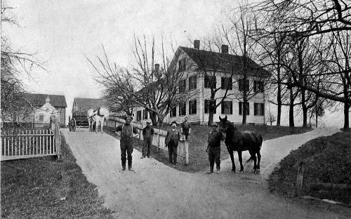 George H. Pearson farm circa 1895 - 1900