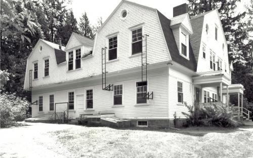 Williams Hall dorm former barn