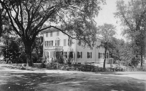 Samaritan House at original location c. 1910
