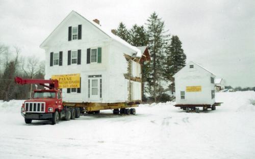 Feb. 2001 Pearson house move