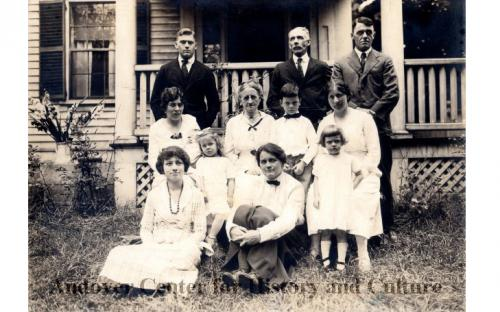 The James J. & Lucy Abbott family