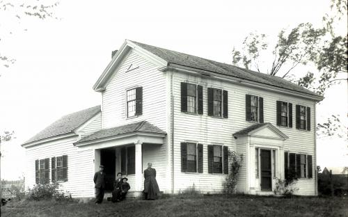 Cutler -  home circa 1910