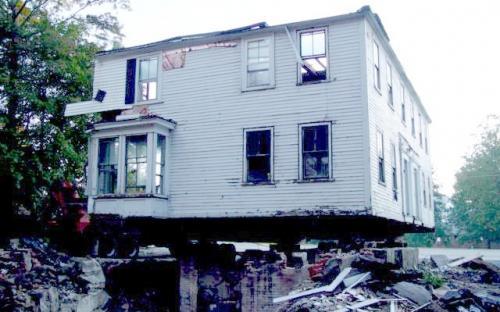 SE corner of house 2004