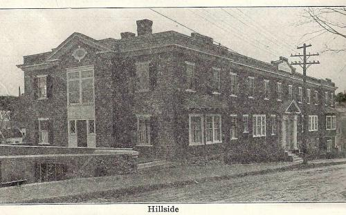 Hillside - north end 1912
