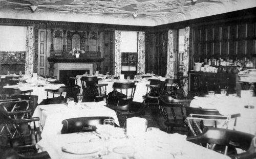 Lanam Club dinning room 1964
