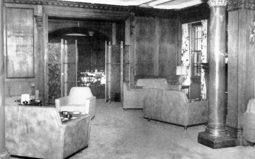 Lanam Club lounge 1964