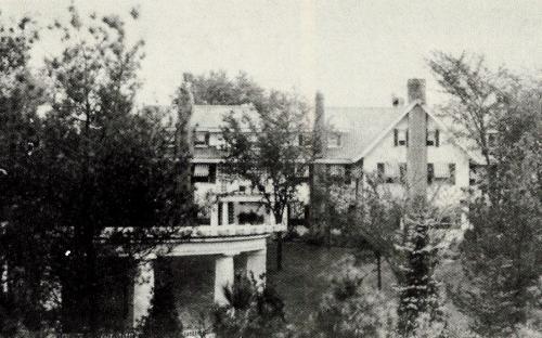 Orland Cottage back garden 1920s