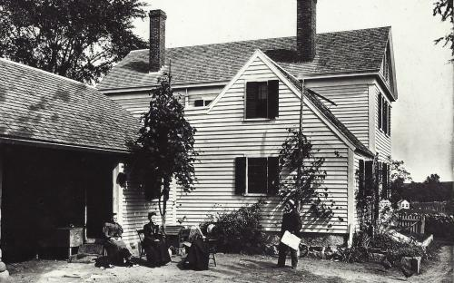 Rear image of homestead