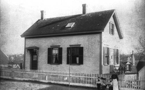 The renovated Schoolhouse circa 1895-1900