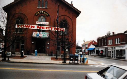 April 1992 - Barnard St. on right