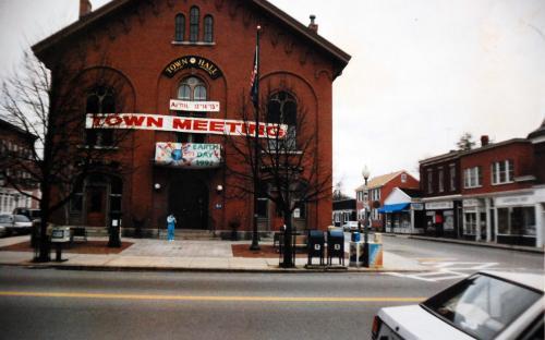 April 1992 - Barnard St. on right