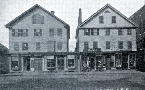 Darper and Barnard Blocks 1896