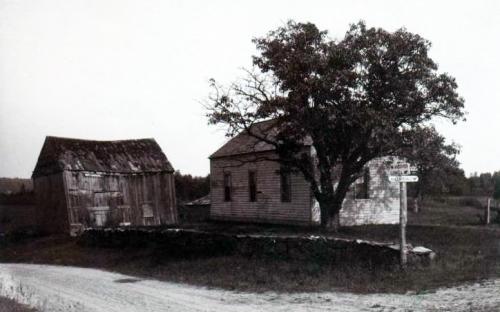 Original McLanthan house circa 1900