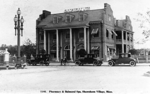 Balmoral Spa post card - 1920's